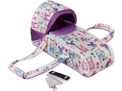 Переносная люлька-кокон Фея Пташки, фиолетовый