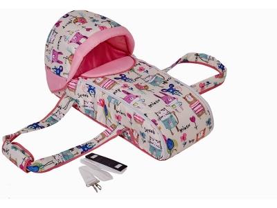 Переносная люлька-кокон Фея Пташки, розовый