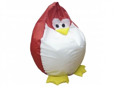 Кресло-мешок Пингвин нейлон красный