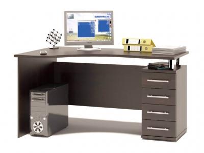 Письменный стол Сокол КСТ-104.1 правый Венге