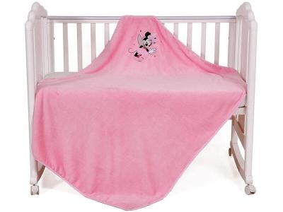 Плед детский Polini kids Disney baby Минни Маус, розовый