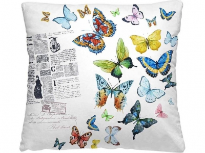 Подушка-думка 40/40 Бабочки