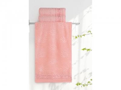 Полотенце Aquarelle 35/70 Лотос Розово-персиковый