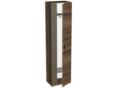 Шкаф для одежды Ханна ПХ-1 540х371х2110 Дуб Галифакс Табак