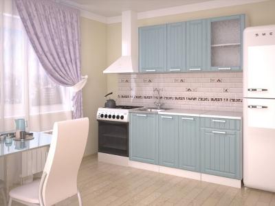 Кухонный гарнитур Прованс Роялвуд голубой 1500