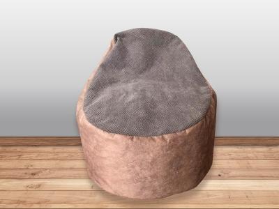 Кресло-мешок Пуф кат. 2 cortex jatte/citrus grey