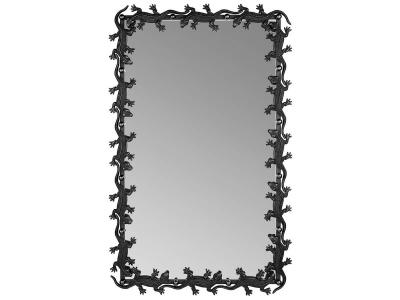 Зеркало Runden Ящерицы V20015