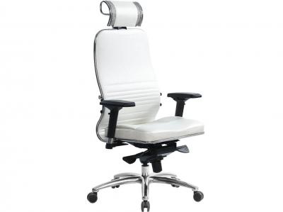 Компьютерное кресло Samurai KL-3.03 белый лебедь