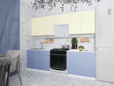 Кухонный гарнитур Лаванда 2400 с мойкой и сушкой ГК2400СМ-5.6_9.2