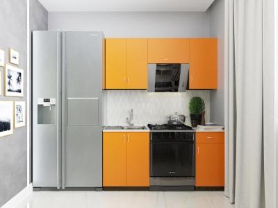 Кухонный гарнитур Тюльпан 1600 с мойкой и сушкой ГК1600СМ-3.13.2(1)