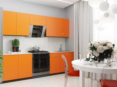 Кухонный гарнитур Тюльпан 2400 с мойкой и сушкой ГК2400СМ-3.13.1