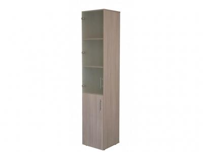 Шкаф для офиса ПС2 Ясень шимо светлый