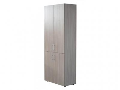 Шкаф для офиса Ш2 Ясень шимо светлый