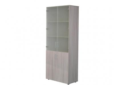Шкаф для офиса ШС2 Ясень шимо светлый