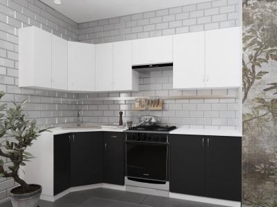 Угловой кухонный гарнитур Роза 2900 с мойкой и сушкой ГКУСМ2900-5.5_7.2