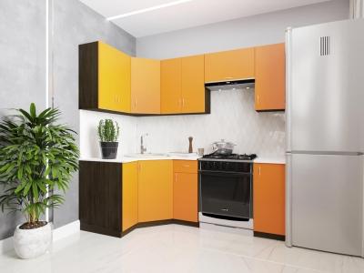 Угловой кухонный гарнитур Тюльпан 2100 ГКУ2100-3.13.1