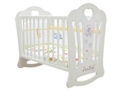 Кроватка детская Шарлотта базовая Птички