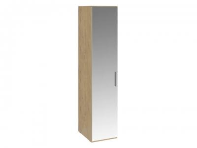 Шкаф для белья с 1 зерк. дверью левый Николь СМ-295.07.002 L Бунратти