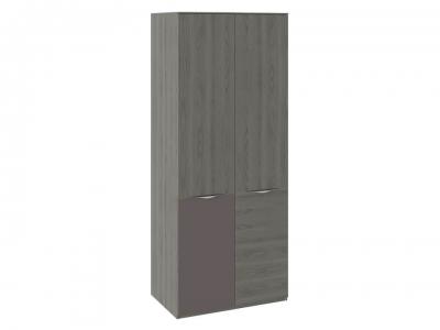 Шкаф для одежды с 1 дверью и 1 с ЛКП Либерти СМ-297.07.025 Хадсон, Серый