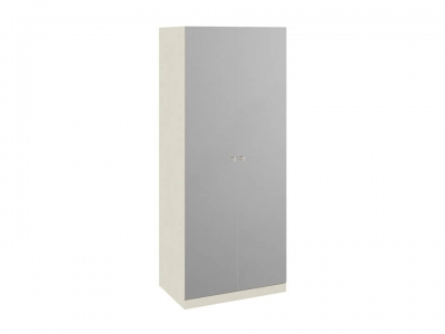 Шкаф для одежды с 2 зеркальными дверями Лорена СМ-254.07.04 Штрихлак