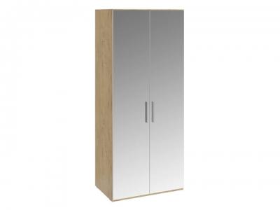 Шкаф для одежды с 2 зеркальными дверями Николь СМ-295.07.004 Бунратти