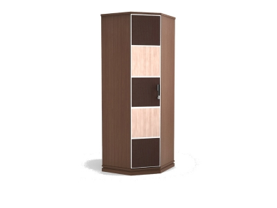 Шкаф для одежды угловой Николь 774х774х2080