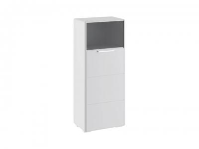 Шкаф комбинированный с 1 дверью Наоми ТД-208.07.28 Белый глянец