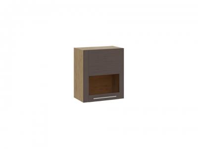 Шкаф настенный малый Николь ТД-296.03.31 Бунратти, коричневый
