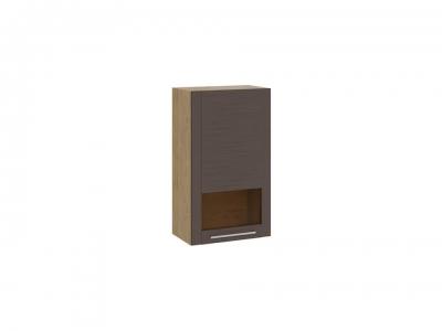Шкаф настенный Николь ТД-296.03.35 Бунратти, коричневый