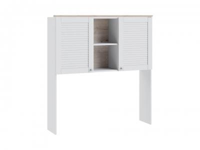 Шкаф настольный Ривьера ТД-241.15.11 Дуб Бонифацио, Белый
