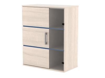 Шкаф навесной Катрин Дуб сонома 800х300х990