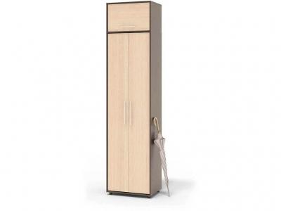 Шкаф распашной Сокол ШО-1 с антресолью Венге/Беленый дуб
