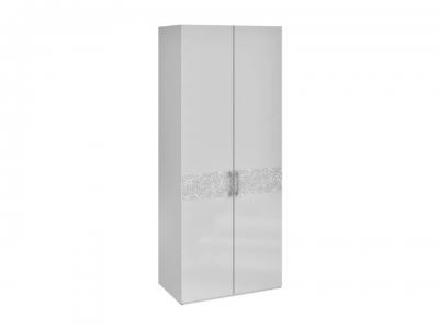 Шкаф с 2 дверями Амели СМ-193.07.003 Белый глянец