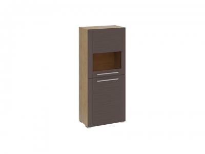 Шкаф с 2 дверями Николь ТД-296.07.28 Бунратти, коричневый
