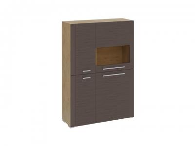 Шкаф с 4 дверями Николь ТД-296.07.29 Бунратти, коричневый