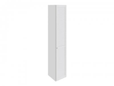 Шкаф торцевой с 1 дверью правый Ривьера СМ 241.07.004 R Белый