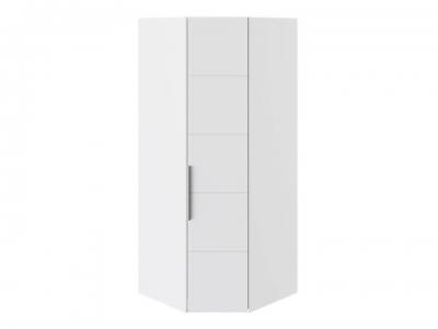 Шкаф угловой с 1 дверью Наоми СМ-208.07.06 Белый глянец