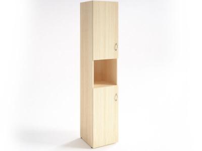 Шкаф для документов узкий НШ-12 Клен
