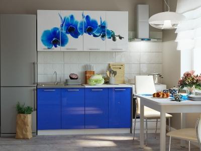 Кухонный гарнитур Риал К-28-синий 1600
