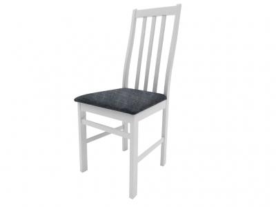 Стул Дакота белый ткань Neo 11 серый