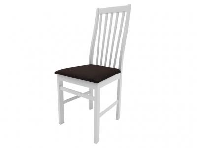 Стул Кантри белый Neo 13 темно-коричневый
