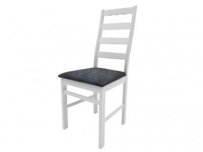 Стул Сильвия белый Neo 11 серый