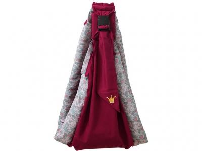 Слинг Polini kids Disney Последний богатырь с вышивкой, принцесса розовый