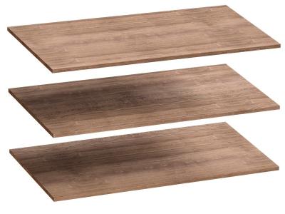Комплект полок 3 шт для 4-дверного шкафа Соренто 1026х510х16 Дуб стирлинг