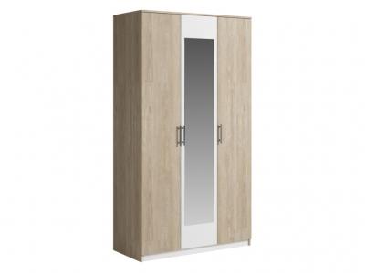 Шкаф 3 двери с зеркалом Светлана 1200х2200х560 мм