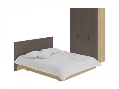 Спальный гарнитур Николь ГН-295.000 Бунратти, коричневый