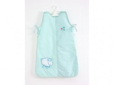 Спальный мешок для новорожденного Fairy Белые кудряшки