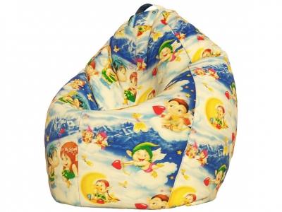 Кресло-мешок Стандарт поплин Ангелочки