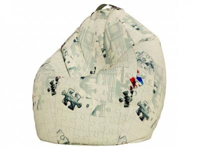 Кресло-мешок Стандарт поплин Пазлы