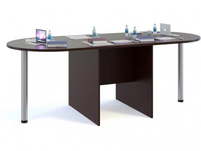 Стол для переговоров Сокол СПР-05 с 2мя приставками Венге